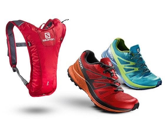Salomon Trail Running Set Gewinnspiel