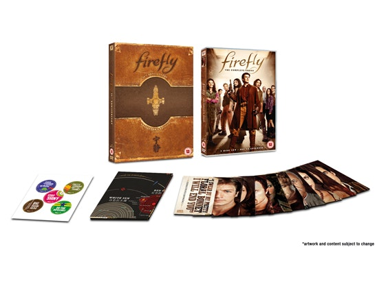 Buffy & Firefly box sets on DVD sweepstakes