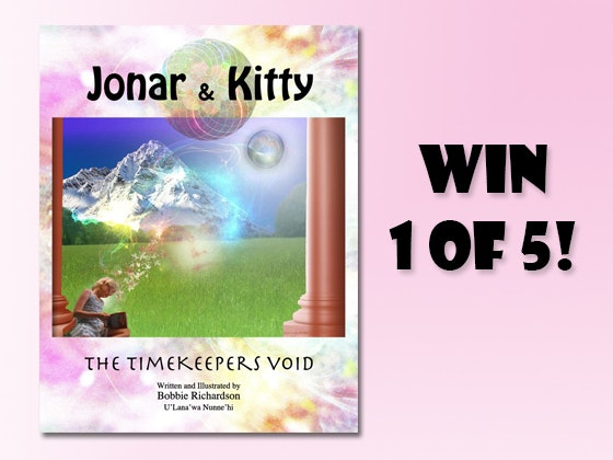 Jonar & Kitty: The Timekeepers Void Book sweepstakes