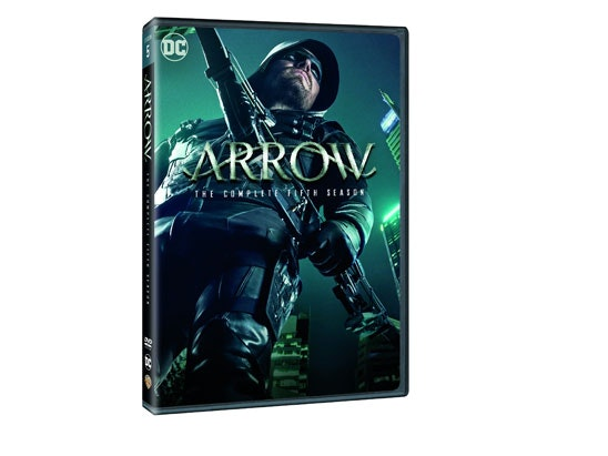 ARROW: THE COMPLETE FIFTH SEASON ON DVD sweepstakes