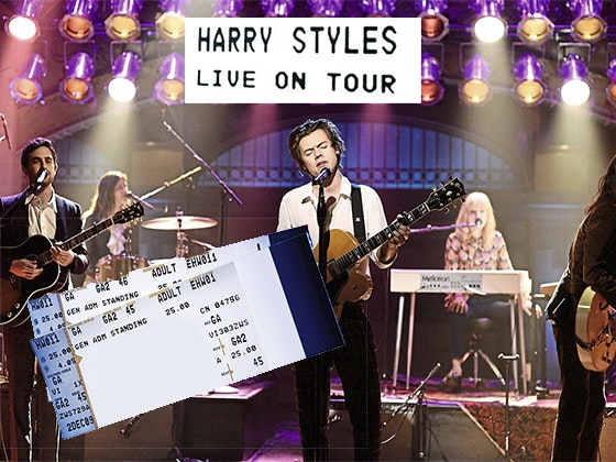 Harry tour tickets giveaway