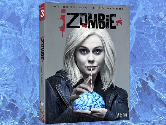 iZombie: The Complete Third Season on DVD sweepstakes