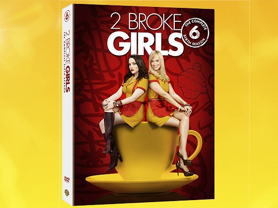2 Broke Girls: The Complete Sixth Season on DVD sweepstakes