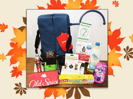 Fall collection swag bag giveaway 1