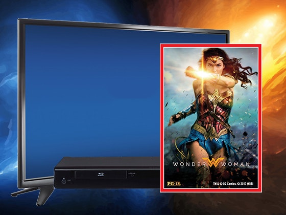 Wonder woman tv bluray giveaway 1