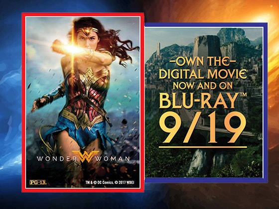 Wonder Woman TV and Blu-ray Player Giveaway sweepstakes