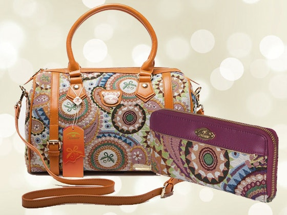 Fricaine Exotic Shoulder Bag & Wallet sweepstakes