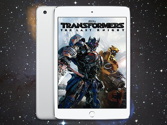 Transformers: The Last Night iPad Mini Giveaway sweepstakes
