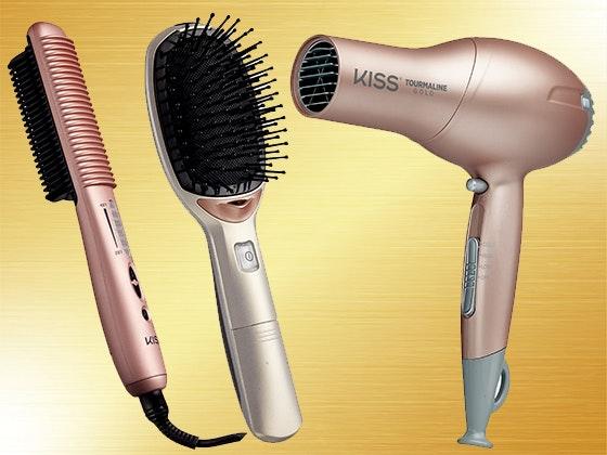 Kiss gold hair tools giveaway 1