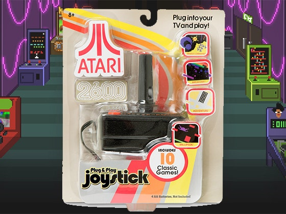 Atari game joystick giveaway 1