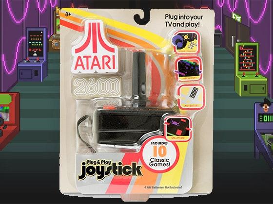 Atari game joystick giveaway 1