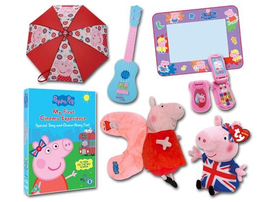 Peppa Pig Bundle of Goodies sweepstakes
