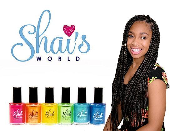 Shai's Nail Polish sweepstakes