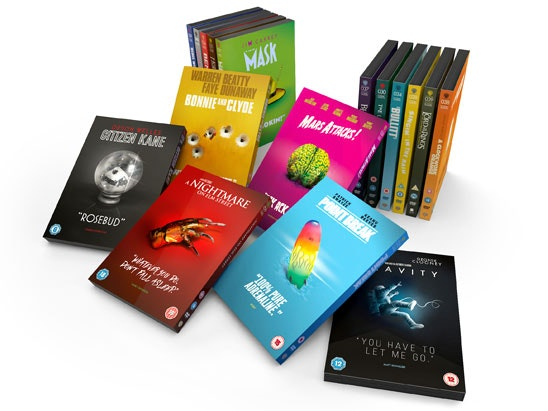 The Iconic Moments Collection bundle on DVD sweepstakes