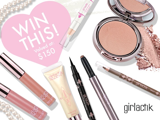 Girlactik makeup giveaway