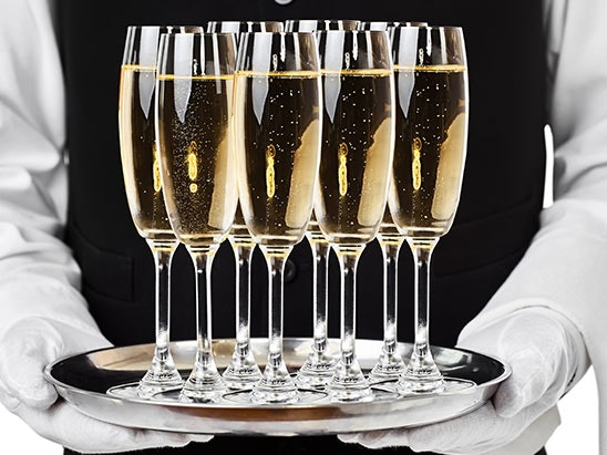 £100 worth of Champagne  sweepstakes