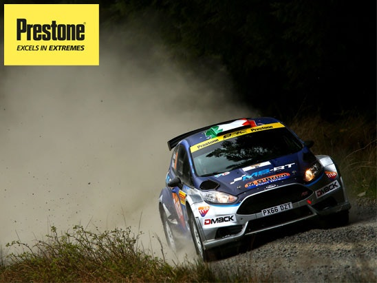 Wales Rally GB and a year's supply of Preston screen wash!  sweepstakes