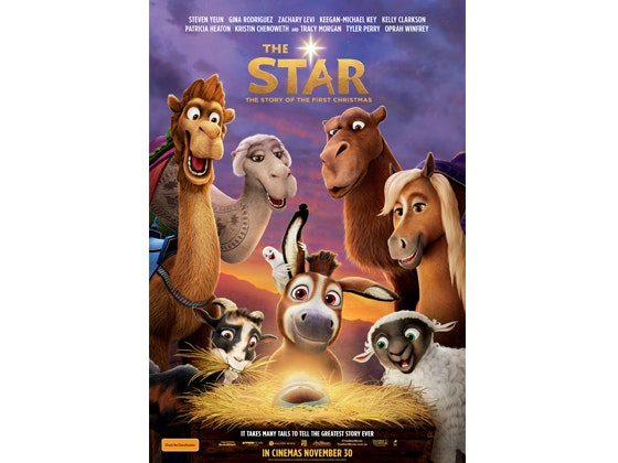 Family Movie Passes to THE STAR  Movie sweepstakes
