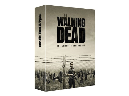 THE WALKING DEAD: SEASONS 1-7 sweepstakes