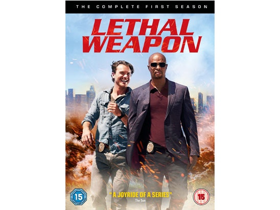 LETHAL WEAPON: THE COMPLETE FIRST SEASON sweepstakes