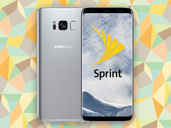 Samsung Galaxy S8 Smartphone from Sprint sweepstakes