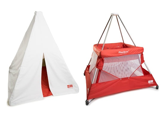 Cot and teepee