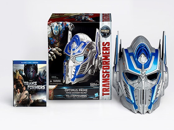 """Transformers: The Last Knight"" on Blu-ray + a Transformers Helmet sweepstakes"
