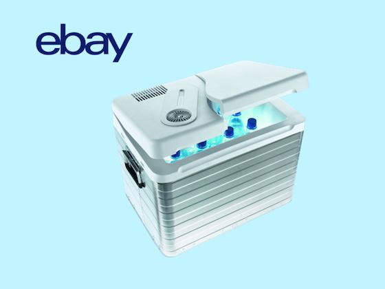 eBay verlost Minikühlschränke! Gewinnspiel