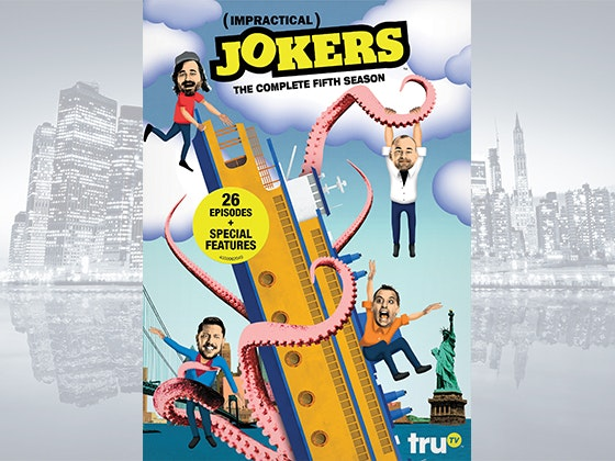 """Impractical Jokers: The Complete Fifth Season"" on DVD sweepstakes"