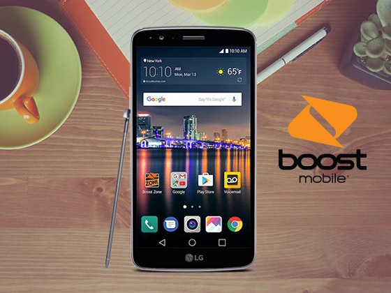 LG Stylo™3 Smartphone from Boost Mobile sweepstakes