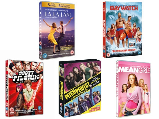 BACK TO UNI DVD BUNDLE WITH MOVIE WEEKENDER sweepstakes