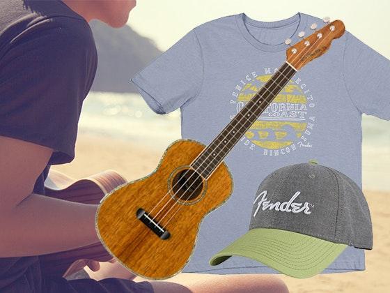 Fender Ukulele Prize Package sweepstakes