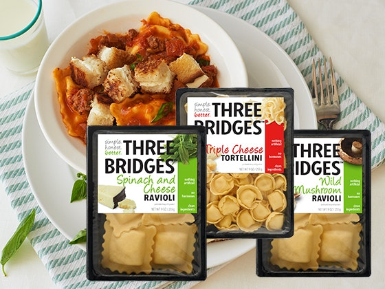 National Pasta Month Prize Package from Three Bridges sweepstakes