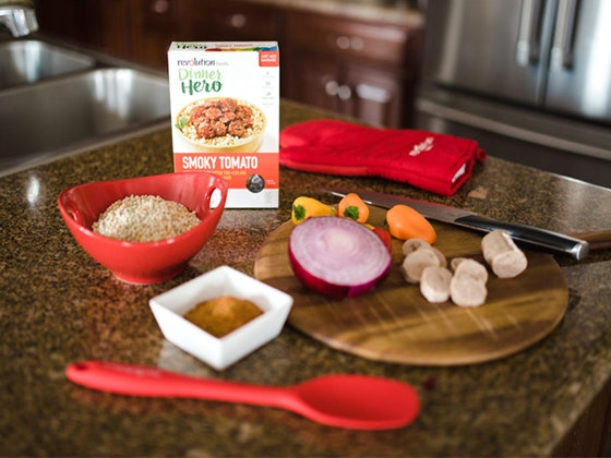 Revolution Foods One-Month Healthy Food Bundle sweepstakes