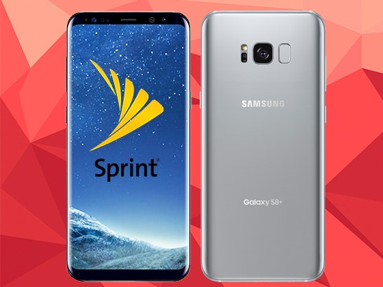 Samsung Galaxy S8+ Smartphone from Sprint sweepstakes