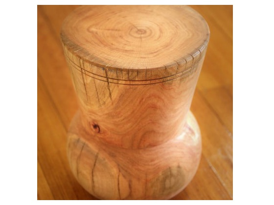 Wooden stool2
