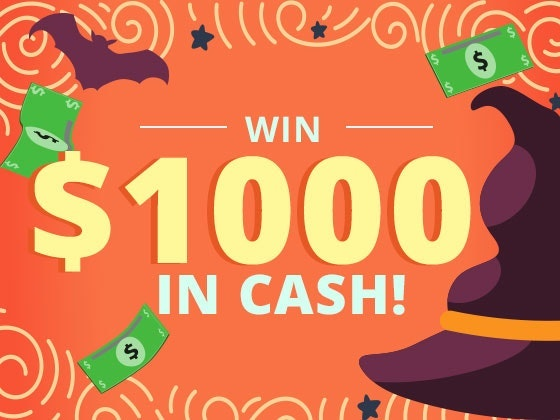$1000 Cash October 2017 sweepstakes