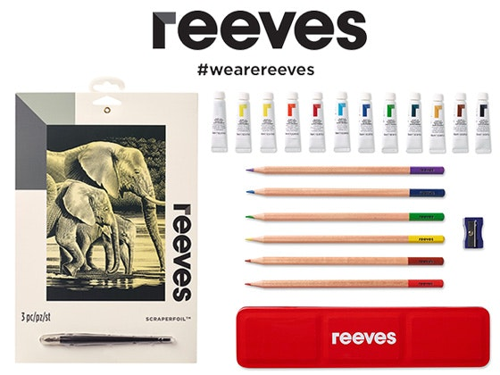 Reeves art products giveaway 1