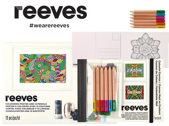 Art Supplies from Reeves sweepstakes