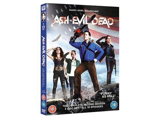 Ash Vs Evil Dead Season 2 on DVD sweepstakes