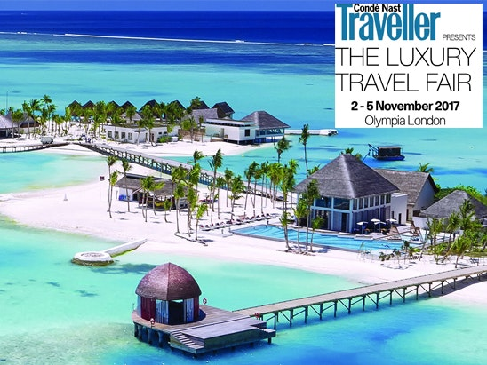 a pair of tickets to The Luxury Travel Fair  sweepstakes