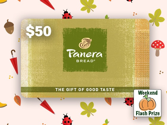 Panera fall weekend flash giveaway