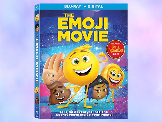 """The Emoji Movie"" on Blu-ray sweepstakes"