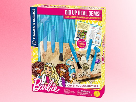Barbie crystal geology set giveaway 1