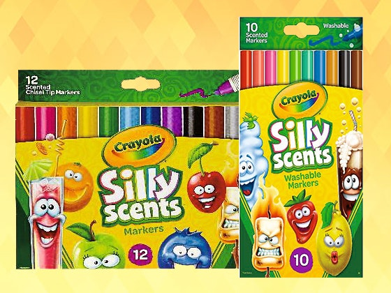 Crayola silly scent markers giveaway