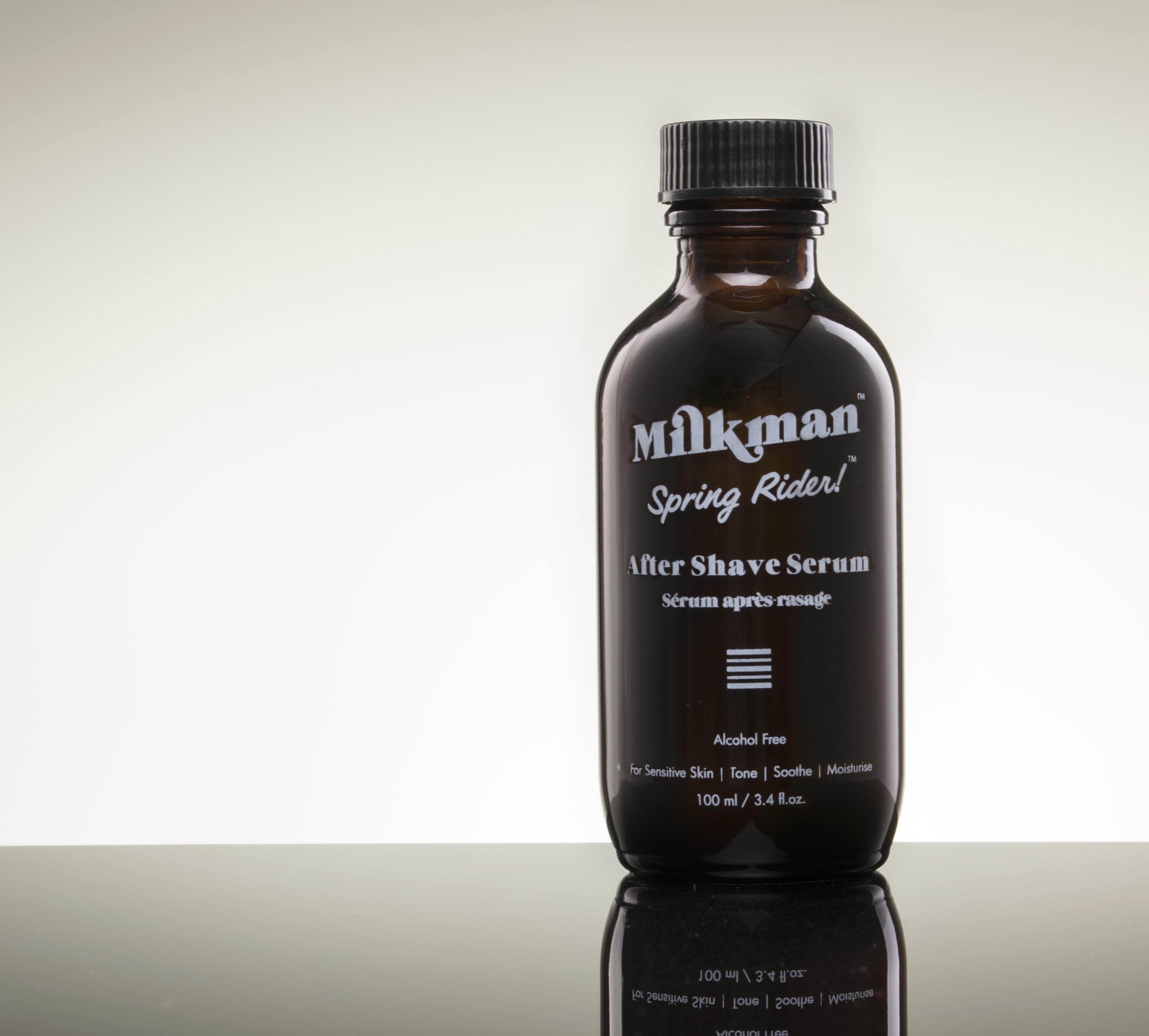 Milkman Grooming Co package sweepstakes
