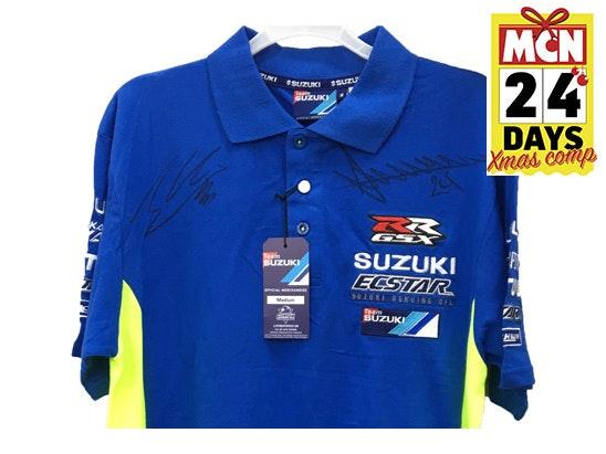 Suzuki iannone rins signed shirt