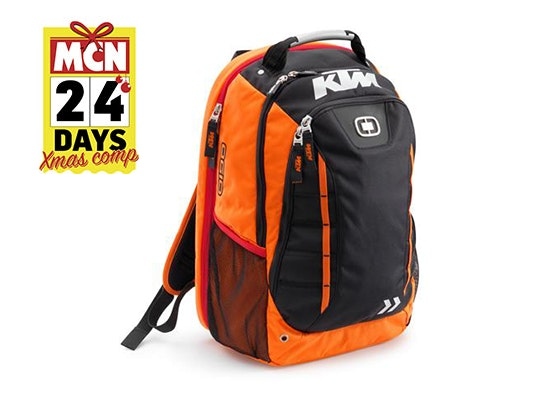 KTM Circuit Back Pack sweepstakes
