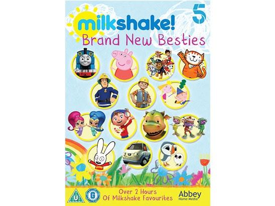 Milkshake Brand New Besties DVD collection sweepstakes