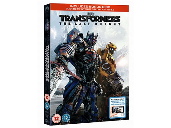 TRANSFORMERS: THE LAST KNIGHT MERCHANDISE sweepstakes